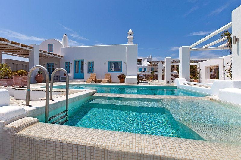 Exterior - Blue Villas | Tramountana | A tranquil villa - Vourvoulos - rentals