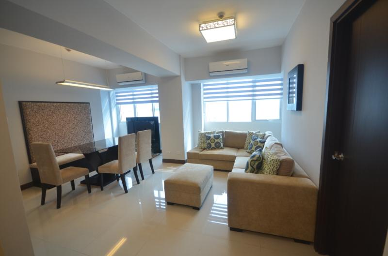 View from entrance - Eastwood LeGrand 1 - 2BR Condo - Safe & Clean - Quezon City - rentals
