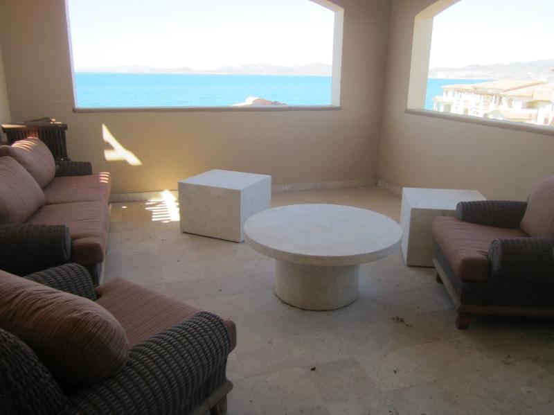 Patio off Master Bedroom - Incredible Penthouse Condo at Paraiso del Mar - La Paz - rentals