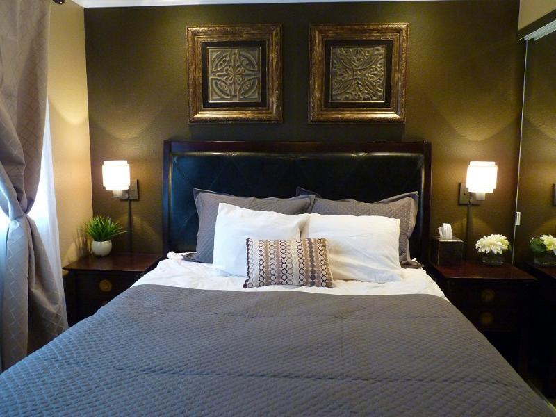 Master Bedroom. Queen Size Bed, 600 thread count sheets - Ocean View 2 Bd 2bth MAUI Hawaii Kihei Condo Beach - Kihei - rentals