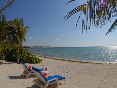 MAYA - MAYA4 Beautifull ocean view colonial decor villa with unimaginable sunsets. - Image 1 - Akumal - rentals