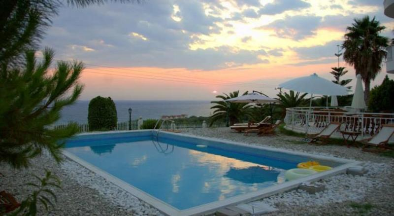 View from the pool - Villa Alex with a view to Ionian Sea! - Preveza - rentals