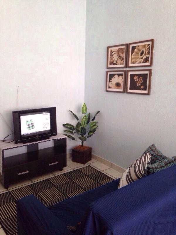 Livingroom Area - Copacabana 1 block from the Beach with WIFI !!! - Rio de Janeiro - rentals