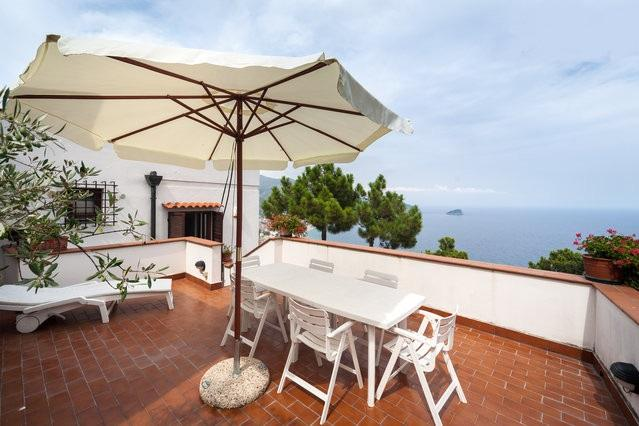 Living Terrace - Amazing Villa on the Gulf - Noli/Varigotti 2BR- 5P - Noli - rentals