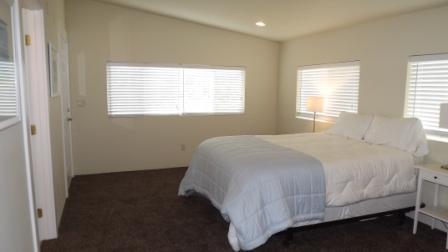 Master Bedroom - Stunning Home on Garrison Lake - Port Orford - rentals