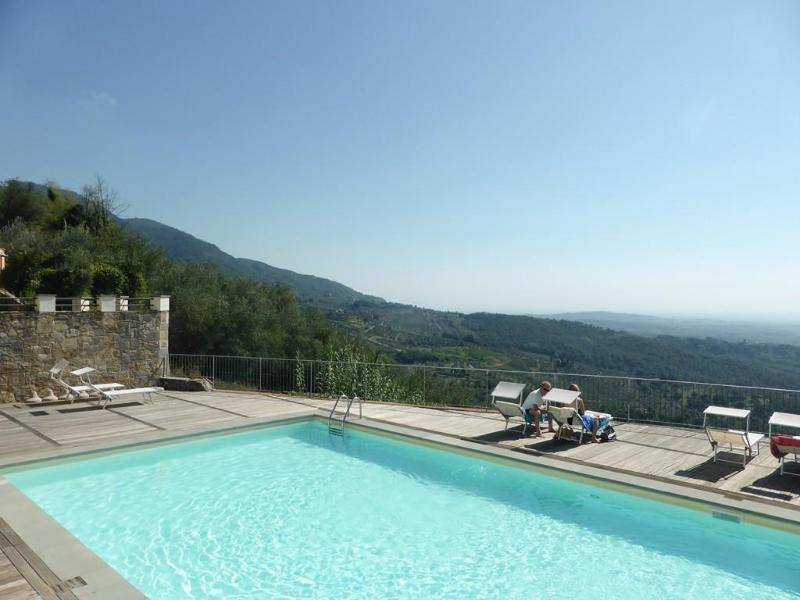 Lavanda with panoramic pool, gym, Wifi - Image 1 - Lucca - rentals