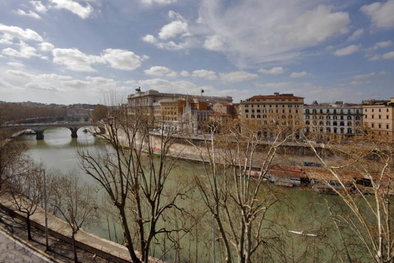 TIBER VIEW - View from the terrace B - TIBER VIEW: elegant  with terrace next to Navona - Rome - rentals