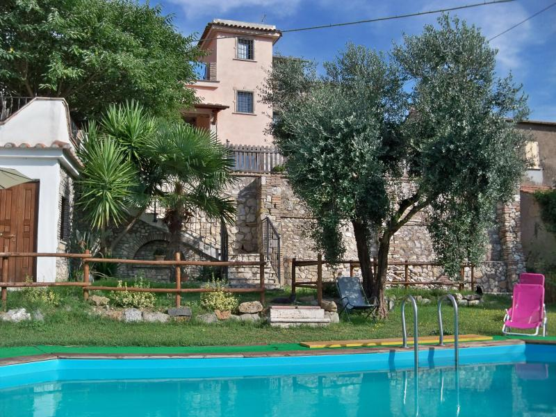 Piscina - Into the NATURE at  LO SPIRITO LIBERO from 2 to 11 people - Montebuono - rentals