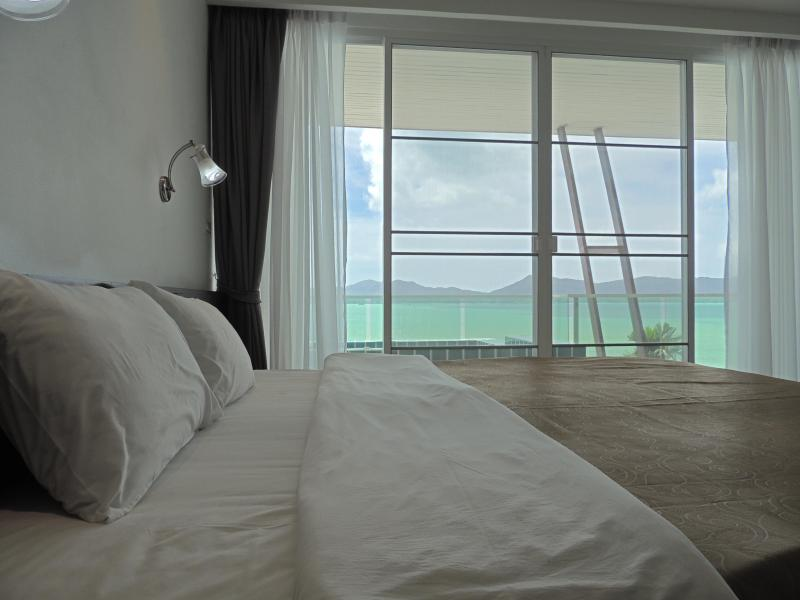Horizon King sized beds for maximum comfort - Tranquil Seaview Apartment w/Jacuzzi, Beachfront Pool - Cape Panwa - rentals