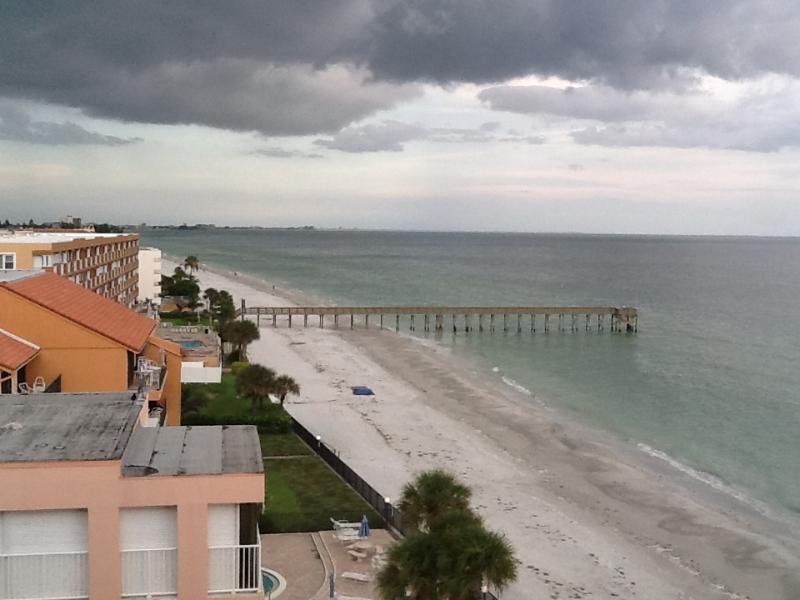 View from condo - Beachfront 7th Floor Studio.  Breathtaking View. - North Redington Beach - rentals