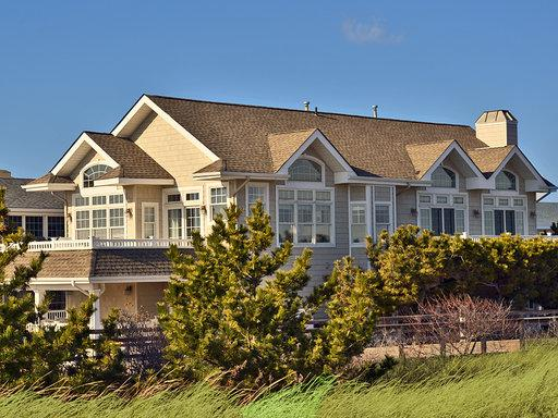 Exterior View from Beach - Avalon Beachfront - Perfect Unobstructed views!! - Avalon - rentals