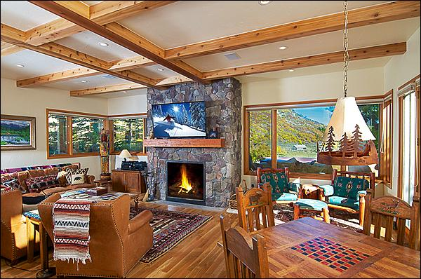 Gathering Room - Spacious Horse Ranch Home - Private location, adjacent to open space (1806) - Snowmass Village - rentals
