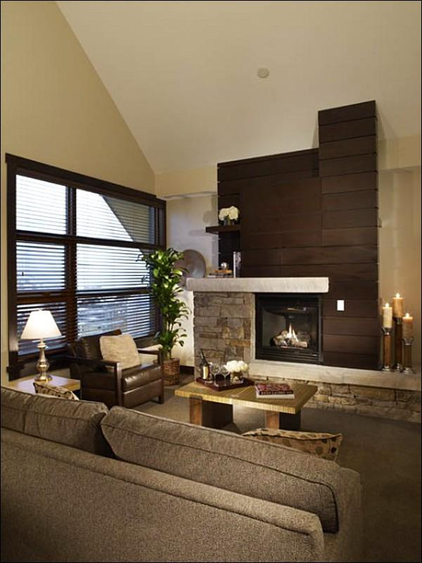 Open Living Space - Hayden Lodge  - Views of the slopes and village (9418) - Snowmass Village - rentals