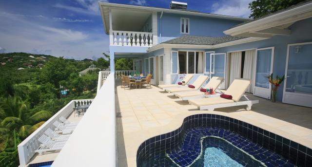 Blue Moon at Cap Estate, Saint Lucia - Ocean View, Golf Course View, Pool - Image 1 - Cap Estate - rentals