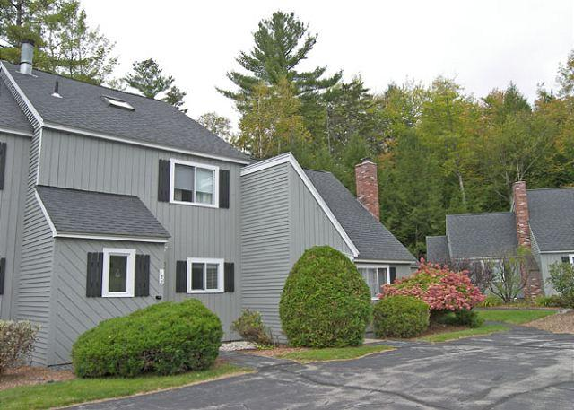 Exterior - Alpine Village 121 - Professionally managed by Loon Reservation Service - North Woodstock - rentals