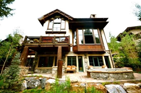 Exterior on The River in Beaver Creek with Private Hot Tub - Village Walk 5 Bedroom Ski-in/Out in Beautiful Beaver Creek! - Beaver Creek - rentals