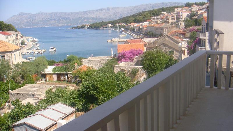 Terrace view - Povlja, island Brac, Croatia Villa Moj mir - Povlja - rentals