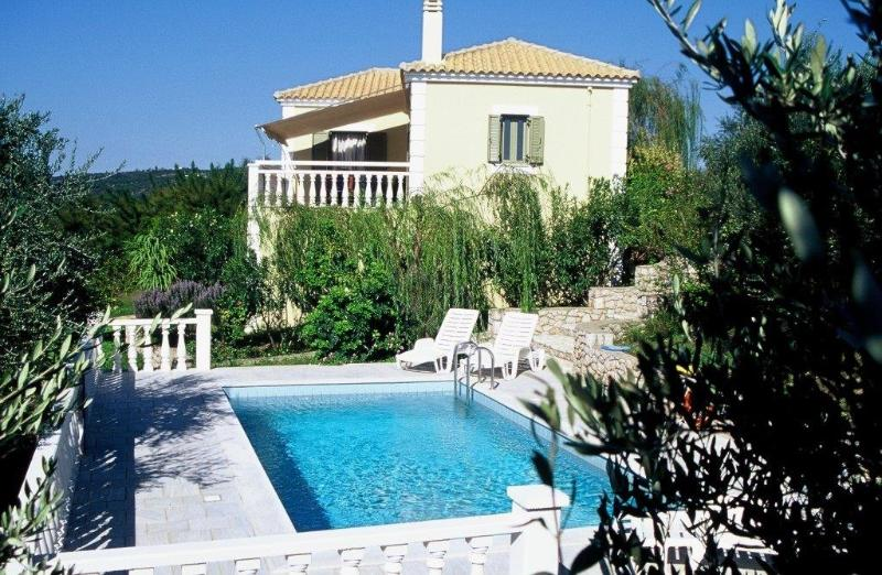 Eleonas two bedroom house  with private pool - Image 1 - Pilos - rentals