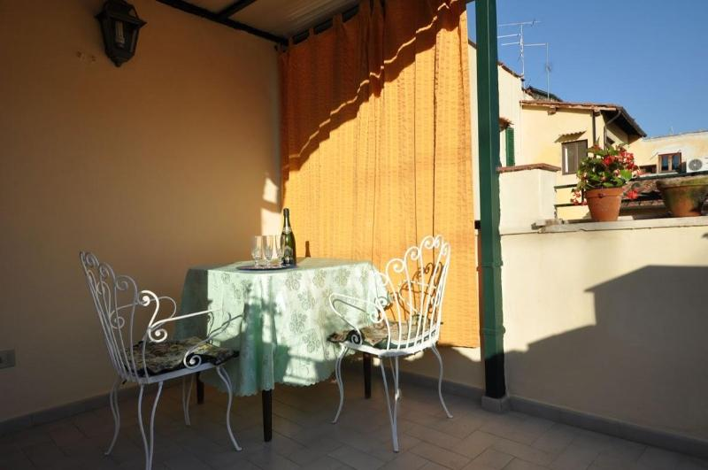 Terrace - Nice Florence Apartment with Excellent Location in Tuscany - Florence - rentals