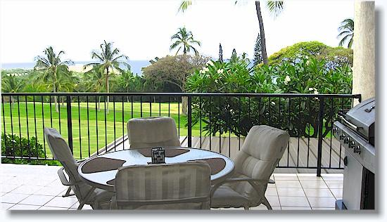 Private lanai - Country Club Villas 223  2/2 Ocean NO BOOKING FEE - Kailua-Kona - rentals