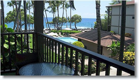 Lanai - Kona Isle C28, one bedroom oceanview - Kailua-Kona - rentals
