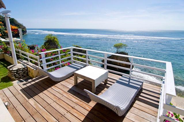 Sun Deck - Bingin Surf Beach House, Deeksha Warung - Pecatu - rentals