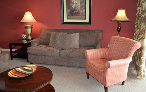 Roomy living area with balcony access - c544af14-3595-11e3-8237-b8ac6f94ad6a - North Myrtle Beach - rentals