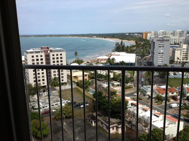 Balcony View - Isla Verde Beachfront 15th Floor Spectacular View - Carolina - rentals