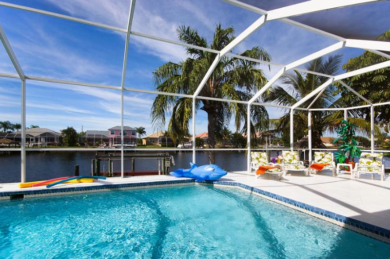 Villa White Paradise - Gulf access, heated pool - Image 1 - Cape Coral - rentals