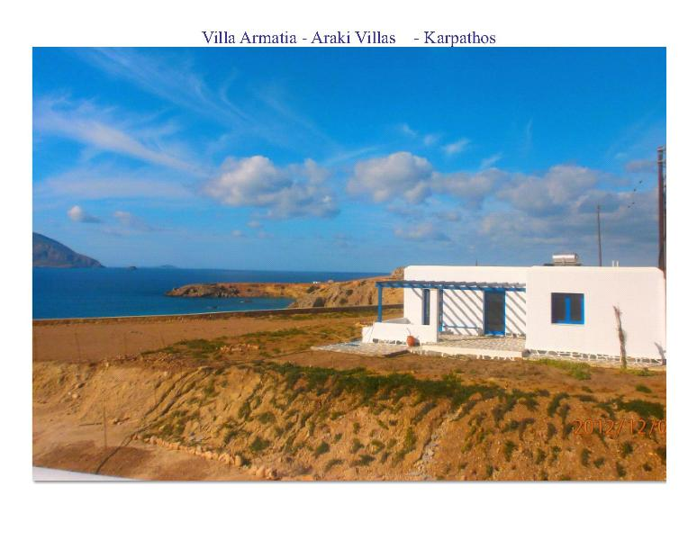Villa Armatia and the Sea of Araki - Villa Armatia Karpathos 6 sleeps 52mt from the sea - Dodecanese - rentals