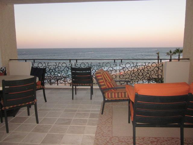Living room open to balcony with beautiful ocean view - Grand Solmar Land's End Resort - Presidential Ste. - Cabo San Lucas - rentals