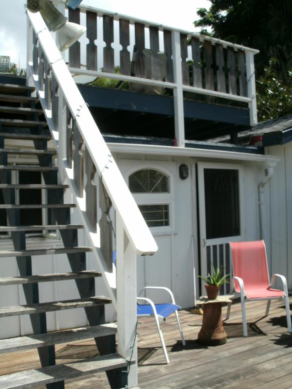 lanai and sun deck / observation deck - Vacation Rental in Oahu Hawiia, the Aloha State - Kaneohe - rentals