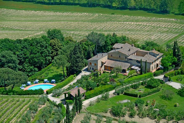 AGRITURISMO LA RIPA Farmhouse panoramic view - Agriturismo La Ripa - Fienile - San Gimignano - rentals