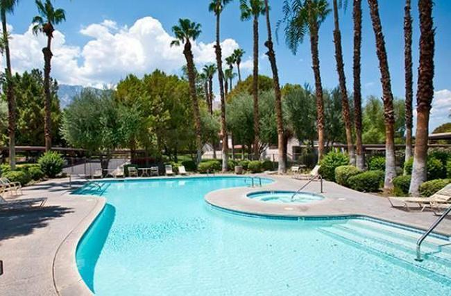 One of several pools/hot tubs to choose from - NEW: Clean, Quiet, Comfy & Cozy Palm Springs Condo - Palm Springs - rentals