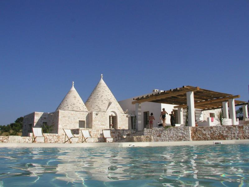 Beautiful villa, amazing pool and views, Puglia - Image 1 - Ostuni - rentals
