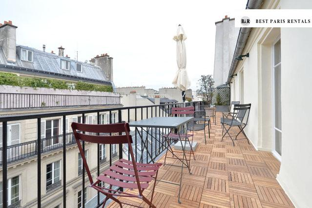 Superb Opera Top roof Penthouse with 100m2 terrace - Image 1 - Paris - rentals
