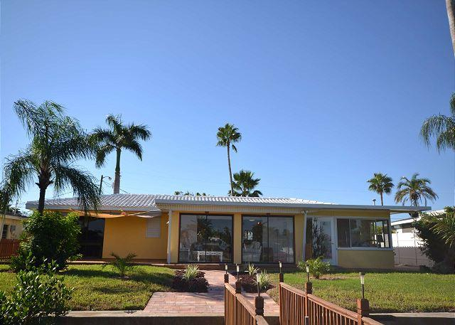 Relaxation Haven - Waterfront Home with dock, 5 minutes from the Beach! - Image 1 - Saint Petersburg - rentals