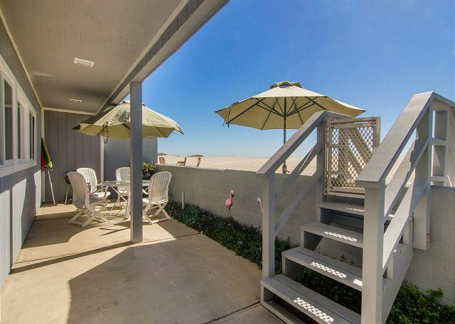 patio - 3441 Ocean- Mollies by the Sea - Oxnard - rentals