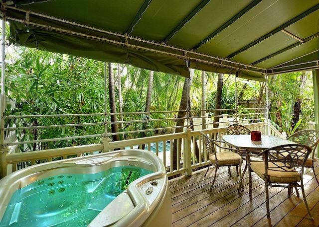 Flamingo Hideaway - Private Hot Tub. Lush Landscape In Old Town Key West - Image 1 - Key West - rentals