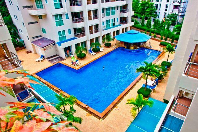 Main Pool Area - Poolside Charming Studio apartment in Patong beach - Patong - rentals