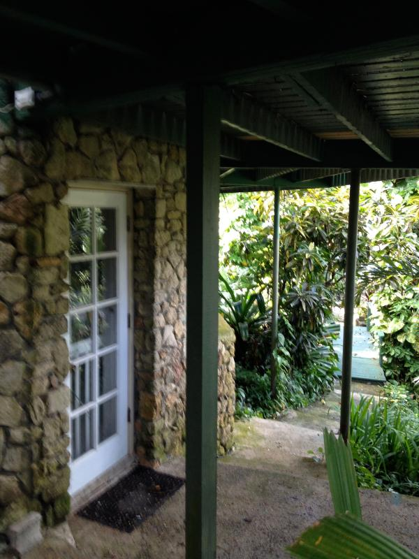 front door - Tropical paradise efficiency-lovely and affordable - Christiansted - rentals