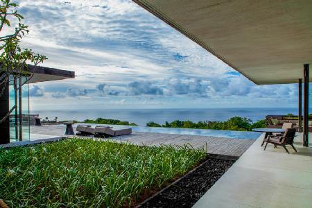 Elevated with dazzling coastal view Uluwatu Hillside Villa - serene grounds & pool - Image 1 - Pecatu - rentals