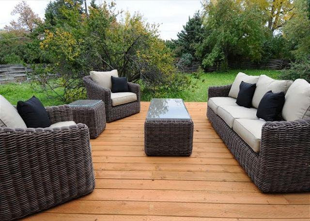 Wonderful outdoor furniture for relaxing - North Wallace Retreat - Bozeman - rentals