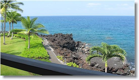 Surf & Racquet Club 3-302 2/2+ Loft NO BOOKING FEE - Image 1 - Kailua-Kona - rentals