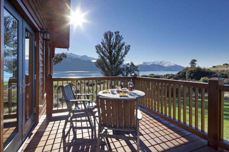 View from the balcony - The Lodge at Walter Peak Station - Queenstown - rentals