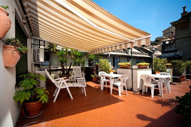 public terrace - Junior Suite Apartment - Genoa - rentals