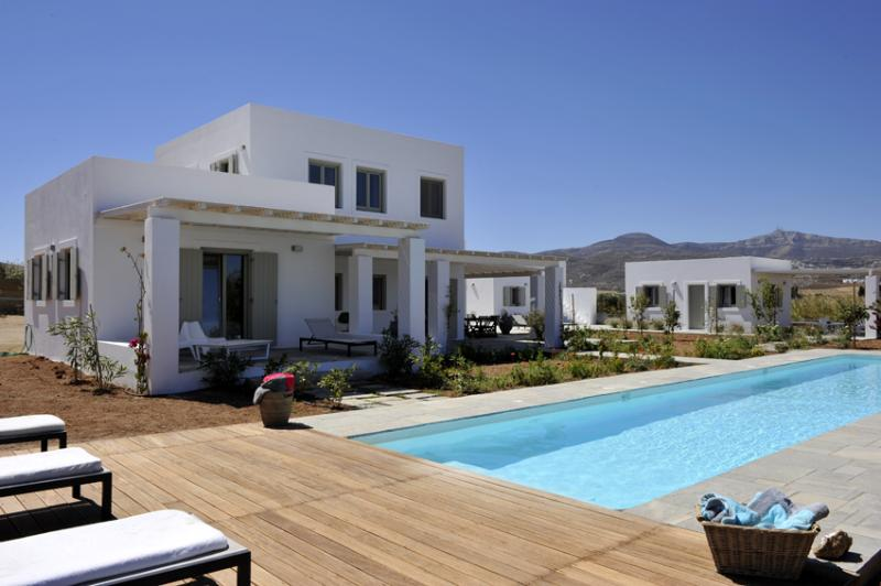 Luxury villa with private pool - Luxury villa with private pool, next to the beach - Naoussa - rentals