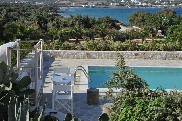 Privilege position for unique holidays - Sea front Villa with 4 br and private pool - Naoussa - rentals