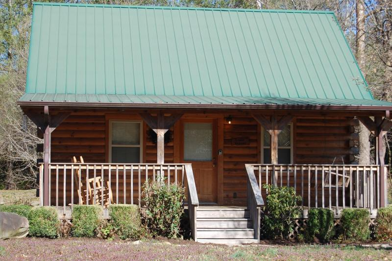 "Creek Heaven on Cosby Creek - Smoky Mountain ""CREEK HEAVEN"" cabin on Cosby Creek - Cosby - rentals"