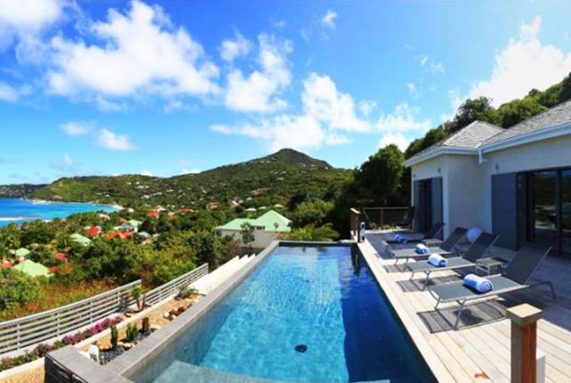 St. Barths Villa 64 Has A Superb View And A Convenient Central Location In Lorient. - Image 1 - Lorient - rentals